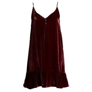 Rails Audrina Velvet slipdress dress 8453